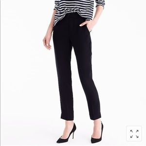 J. Crew pull-on easy pant in matte crepe